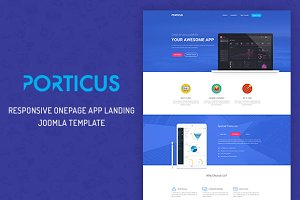 Porticus Onepage Startup App Theme