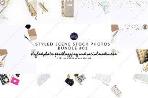 Styled Stock Mockup Bundle #01