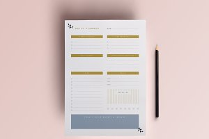 Daily Planner Printable | A4 Planner