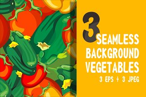 Seamless background - vegetables