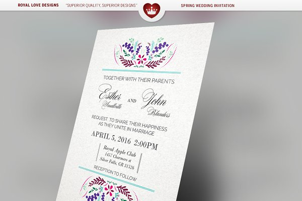 Spring Wedding Suite