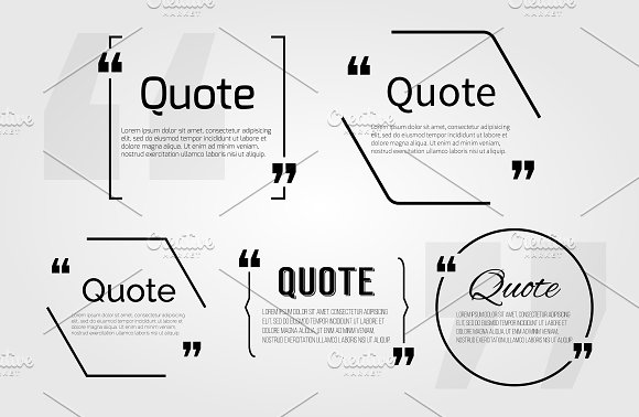 Quote blanks templates. Dialog Box
