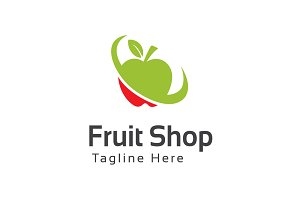 Fruit Shop Logo Template