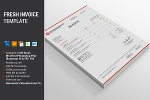 Fresh Invoice Template