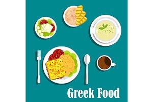 Mediterranean greek cuisine
