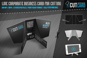 CutCard - Business Card for cutting