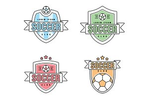 Soccer, football Club Vector Logo
