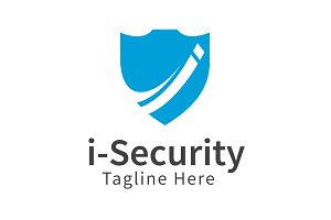 I-Security Logo Template