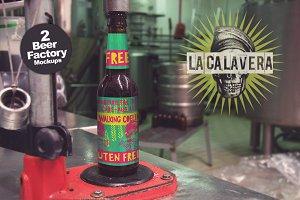 2 Beer Factory Mockups