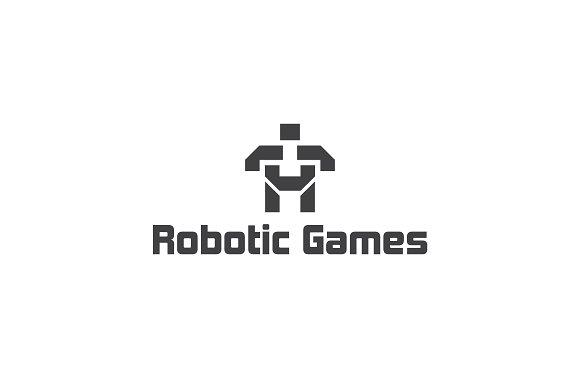 Robotic Games Logo Template