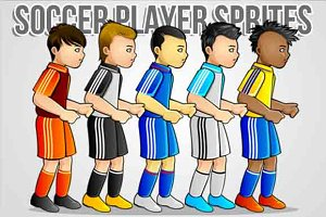 Soccer Player Sprites