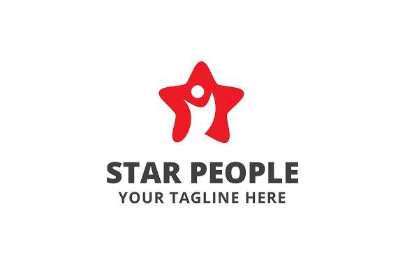 Star People Logo Template