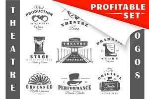 27 Theatre logos templates