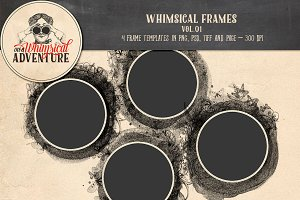 Templates - Whimsical Frames Vol.01