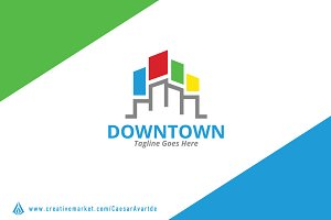Colorful City Logo Template