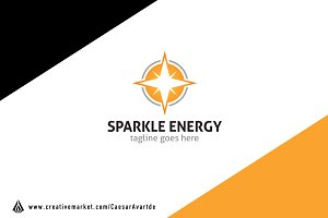 Sparkle Energy Logo Template