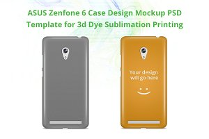 Zenfone 6 3d IMD Case Mock-up