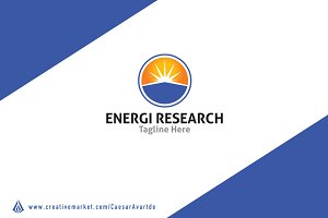 Energy Research Logo Template