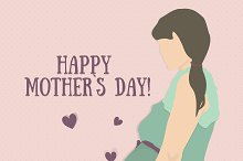Mother`s Day. Pregnancy