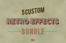 Retro Vintage Effects vol.1