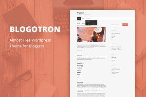 Blogotron - Cheap Wordpress Theme