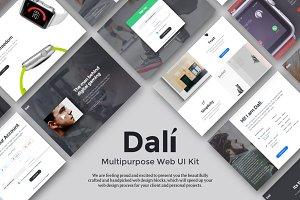 Dali - Multipurpose Web UI Kit
