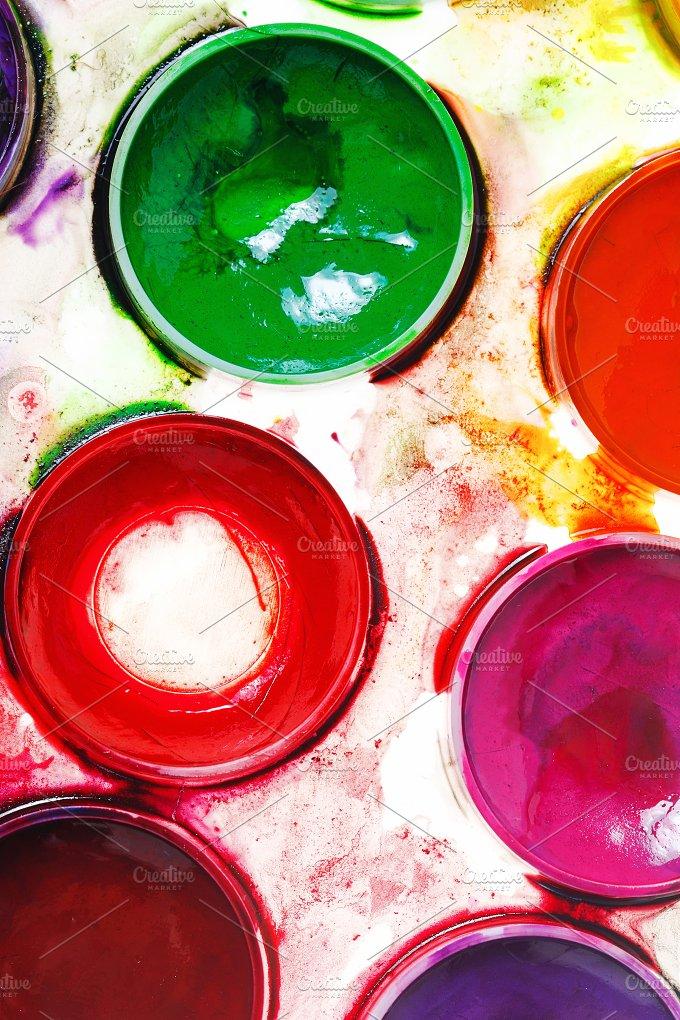 Watercolor paints. Paintbox - Arts & Entertainment