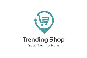 Trending Shop Logo Template
