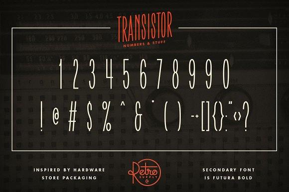 Transistor Font | FREE Download