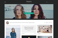 Pinpoint Tumblr Theme