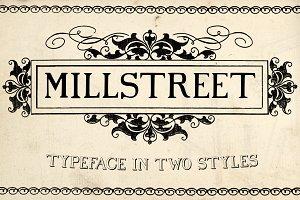 Millstreet Typeface