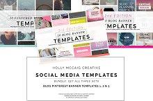 Blog Pinterest Banners Bundle