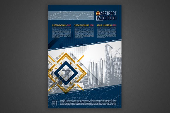 Vector business background