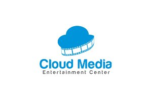 Cloud Media Logo Template