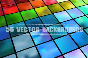 Set of 56 vector backgrounds