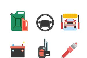 Car service vector icon