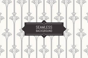 Seamless Art Deco patterns