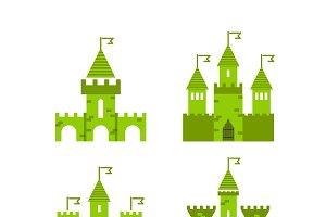 4 green castle