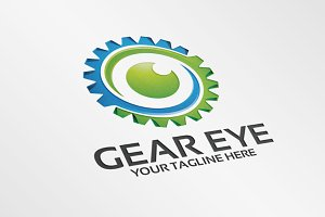 Gear Eye – Logo Template
