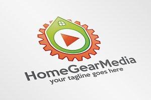 HomeGearMedia – Logo Template