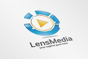 Lens Media – Logo Template