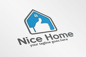 NICE HOME – Logo Template