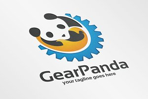 GearPanda – Logo Template