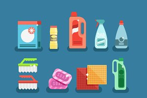 Detergents for cleaning