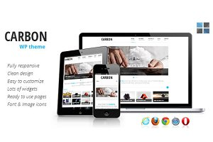 Carbon Responsive WordPress Theme