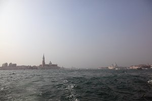 Bella Italia series. Venice - the Pearl of Italy. View on San Giorgio Maggiore Island.