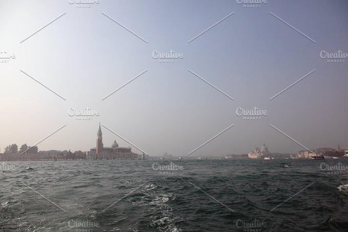 Bella Italia series. Venice - the Pearl of Italy. View on San Giorgio Maggiore Island. - Architecture