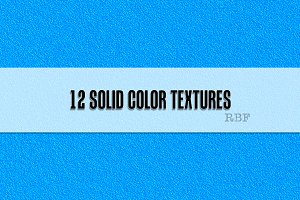 12 Solid Color Textures
