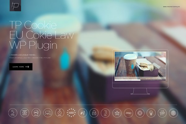 WordPress Plugins: CapitalTemplate - TP Cookies EU Cookies Law WP Plugin