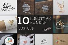 10 Logotype Bundle 85% OFF